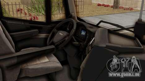 Iveco Truck from ETS 2 v2 pour GTA San Andreas vue de droite