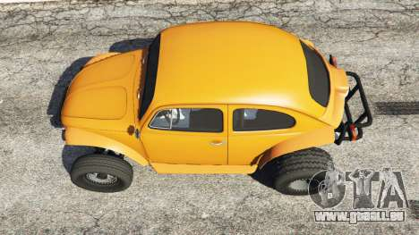 GTA 5 Volkswagen Beetle Baja Bug [Beta] Rückansicht