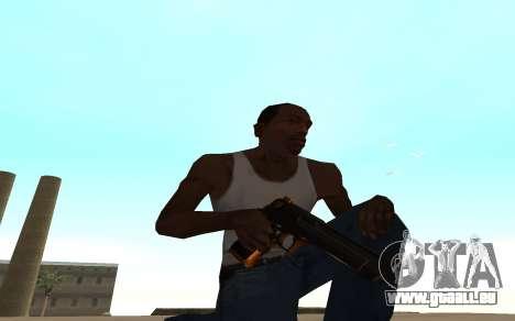 Nitro Weapon Pack pour GTA San Andreas deuxième écran