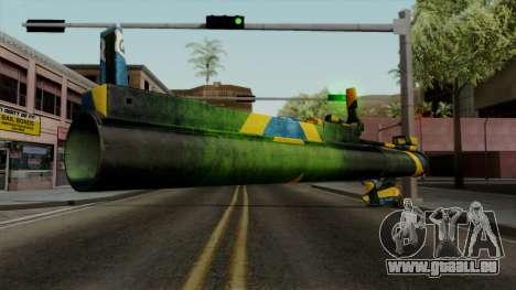 Brasileiro Heatseek v2 für GTA San Andreas dritten Screenshot