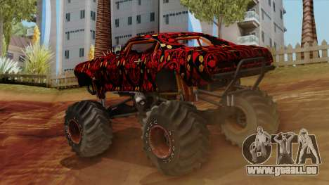 The Batik Big Foot pour GTA San Andreas laissé vue
