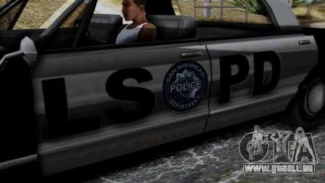 Police Savanna 2.0 für GTA San Andreas rechten Ansicht