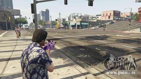 GTA 5 Anime lance-grenade troisième capture d'écran