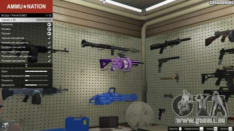 Anime lance-grenade pour GTA 5