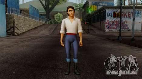 Eric (The Little Mermaid) für GTA San Andreas zweiten Screenshot