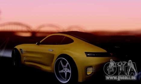 Mercedes-Benz AMG GT pour GTA San Andreas vue de droite