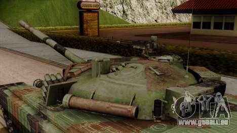 PT-91A Twardy pour GTA San Andreas vue de droite