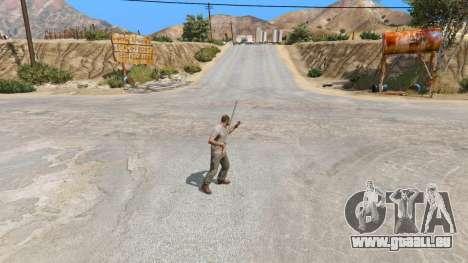 GTA 5 Schwert Excalibur dritten Screenshot