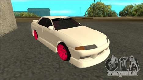 Nissan Skyline R32 Sedan Monster Energy Drift für GTA San Andreas linke Ansicht