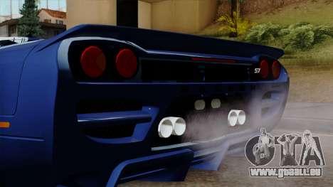 Saleen S7 pour GTA San Andreas vue arrière