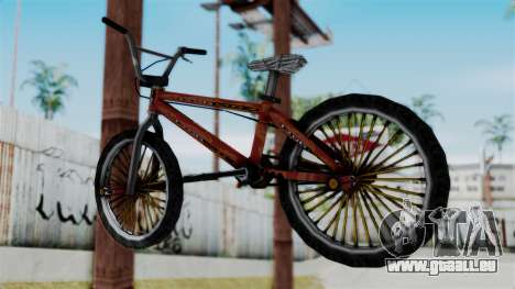 Bike from Bully für GTA San Andreas linke Ansicht