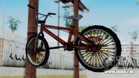 Bike from Bully pour GTA San Andreas laissé vue
