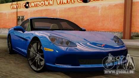 Chevrolet Corvette C6 für GTA San Andreas