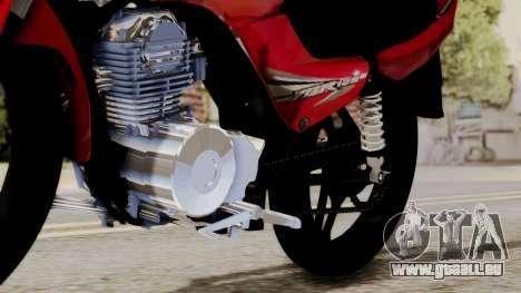 Yamaha YBR Imitacion für GTA San Andreas Rückansicht