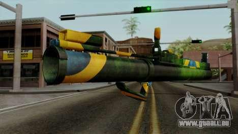 Brasileiro Heatseek v2 für GTA San Andreas zweiten Screenshot