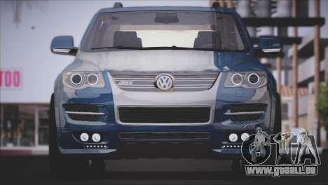 Volkswagen Touareg R50 2008 für GTA San Andreas zurück linke Ansicht