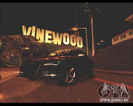 REXAS ENB v1 pour GTA San Andreas deuxième écran