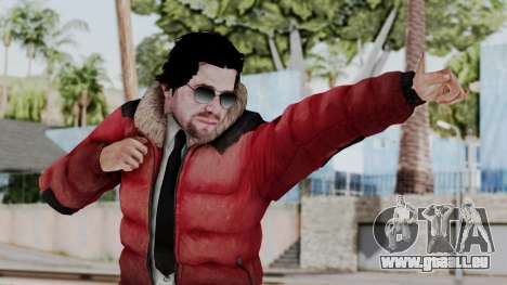 Willis Huntley from Far Cry 4 pour GTA San Andreas