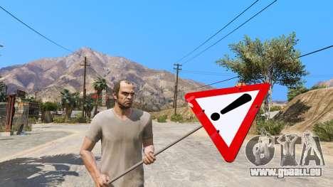 Panneau routier pour GTA 5