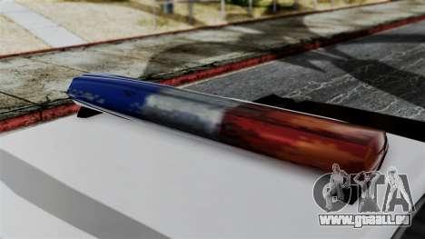 Police Savanna 2.0 für GTA San Andreas zurück linke Ansicht