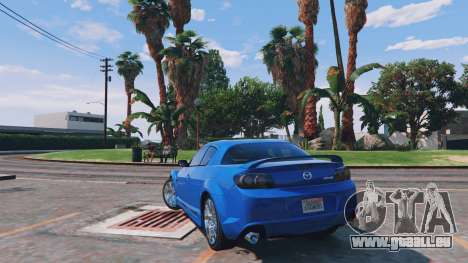 Mazda RX-8 R3 v0.1 für GTA 5