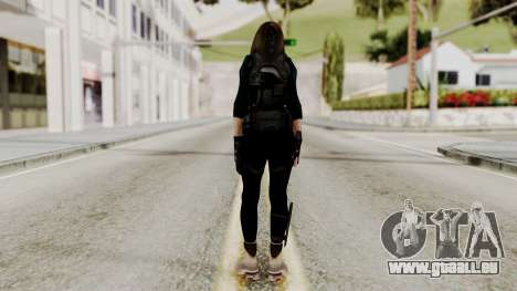Christy Battle Suit 2 (Resident Evil) für GTA San Andreas dritten Screenshot