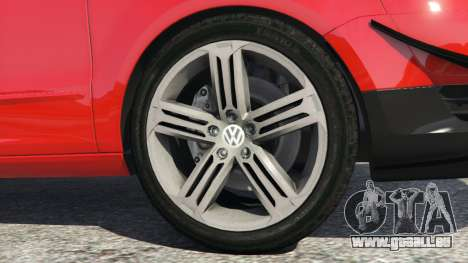 GTA 5 Volkswagen Fox v1.1 hinten rechts