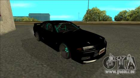 Nissan Skyline R32 Drift Monster Energy für GTA San Andreas linke Ansicht