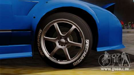Nissan 180SX Street pour GTA San Andreas sur la vue arrière gauche