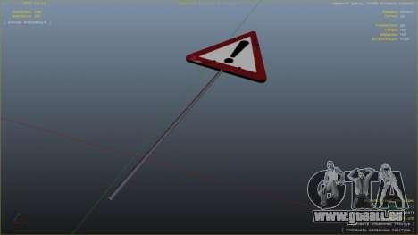 GTA 5 Panneau routier septième capture d'écran
