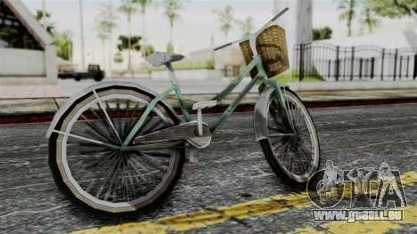 Olad Bike from Bully für GTA San Andreas linke Ansicht