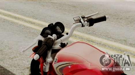 Yamaha YBR Imitacion pour GTA San Andreas vue de droite