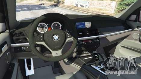 GTA 5 BMW X5 M (E70) 2013 v1.01 avant droite vue de côté