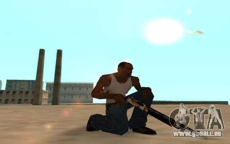 Asiimov Weapon Pack v2 für GTA San Andreas sechsten Screenshot