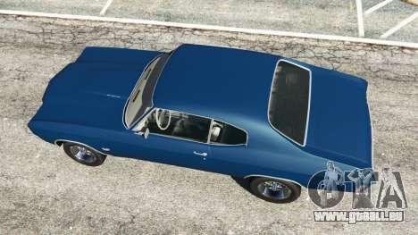 GTA 5 Chevrolet Chevelle SS 1970 v0.1 [Beta] vue arrière