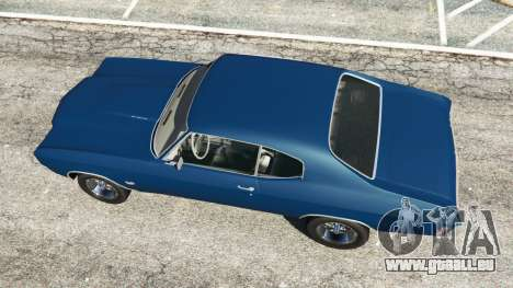 GTA 5 Chevrolet Chevelle SS 1970 v0.1 [Beta] Rückansicht