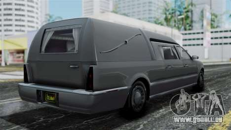 GTA 5 Albany Romero IVF für GTA San Andreas linke Ansicht