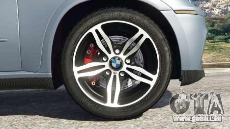 GTA 5 BMW X5 M (E70) 2013 v1.01 arrière droit vue de côté