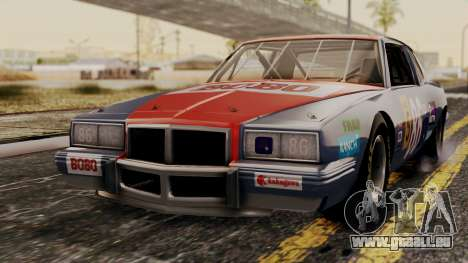 Pontiac GranPrix Hotring 1981 No Dirt pour GTA San Andreas
