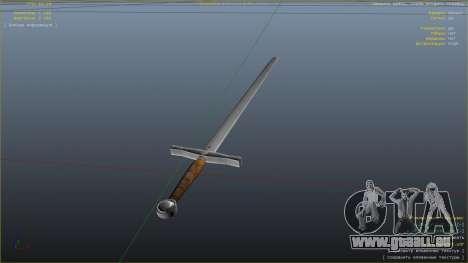 GTA 5 Schwert Excalibur sechster Screenshot