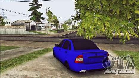 VAZ 2170 Vip-Stil für GTA San Andreas zurück linke Ansicht