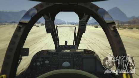GTA 5 A-10A Thunderbolt II 1.1 deuxième capture d'écran