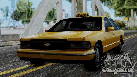 Taxi Casual v1.0 pour GTA San Andreas