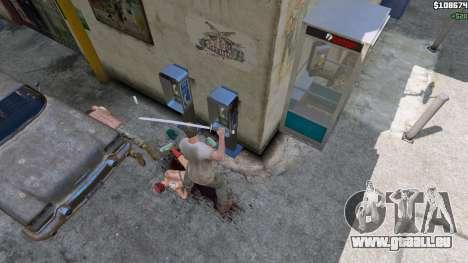 GTA 5 Katana cinquième capture d'écran