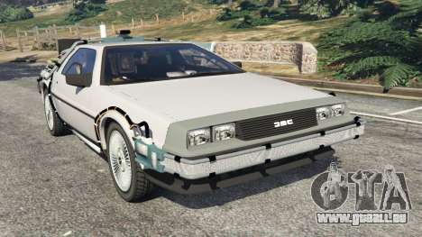 DeLorean DMC-12 Back To The Future v0.3 für GTA 5