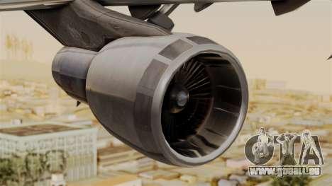 Boeing 747 MasKargo pour GTA San Andreas vue de droite