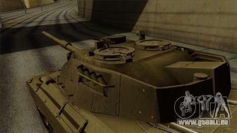 Leopard 1A5 pour GTA San Andreas vue de droite