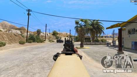 GTA 5 TAR-21 из Battlefield 4 sechster Screenshot
