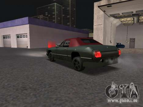 New Stallion pour GTA San Andreas sur la vue arrière gauche