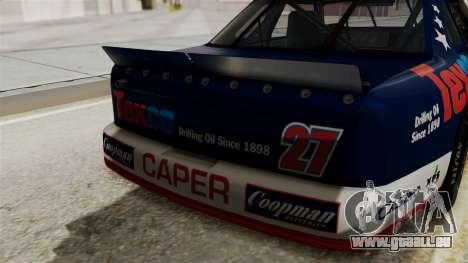 Chevrolet Lumina NASCAR 1992 pour GTA San Andreas vue arrière